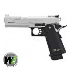 WE Hi-Capa 5.1 Dragon GBB, Silver - Type A