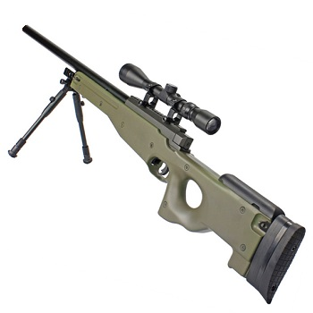 WELL MB01 Type96 / L96 Sniper Rifle Set - Olive