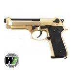 WE M92 GBB - 24k Gold