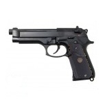 WE M9A1 USMC GBB - Black