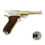 "WE Luger P.08 GBB 4"" - Gold"