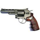 "WinGun Super Sport 701 4"" Co² Revolver - Black advent"