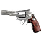 "WinGun Super Sport 701 4"" Co² Revolver - Chrome"