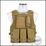 "PHX Plate Carrier / Weste ""FSBE Style"" Basic - Coyote"