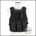 "PHX Plate Carrier / Weste ""FSBE Style"" Basic - schwarz"