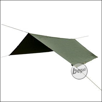 "BE-X Ranger II Tarp ""Reflective Edition"" 290x290cm - olive"