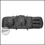 Begadi Langwaffentasche mit Doppelfach (100cm) - Black