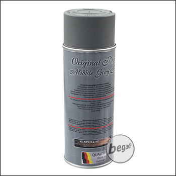 Begadi Farbspray 400ml - Middle Gray