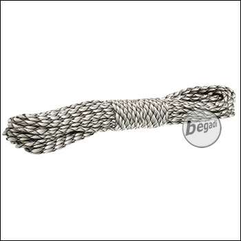"BE-X Paracord (550lbs), 30m - ""Urban Digital"""
