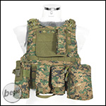 "PHX Plate Carrier / Weste ""FSBE Style"" - digital woodland"