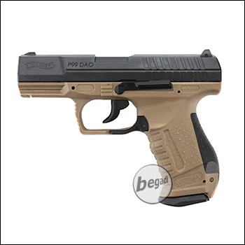 Walther P99 DAO Metall Co² BlowBack - Desert