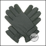 BE-X Mikrofaser Handschuhe, kurze Stulpe, schwarz - Gr. L