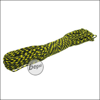 BE-X Paracord (550lbs), 30m - Yellow/Black