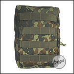"BE-X Tasche ""Vertical acc."" - flecktarn"