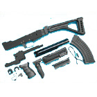 G&P AK Tactical Conversion Kit (Folding Stock) - Black