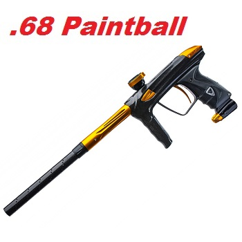 Luxe DLX OLED Cal .68 Paintball Marker - Carbon/Gold