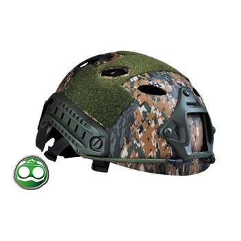 nHelmet FAST Helm PJ Type - Digital Woodland